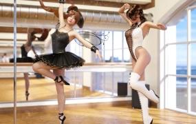 【3D图包】Gachidom大师作品,艺术级束缚调教@膝上仔猫m【443P】