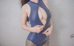 白金Saki – 浴室死库水【21P】