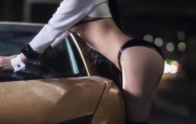 高颜值极品妹子[Cosplay]抱走莫子 – atago 23P