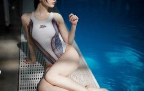 微博网红 萌妹子-周叽是可爱兔兔 竞泳cos【33P/328M】