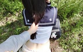 网络红人@萌兰酱-小树林里的JK少女 [58P/181M]